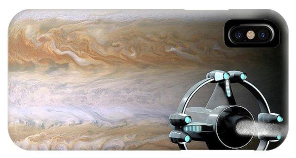Meeting Jupiter IPhone Case