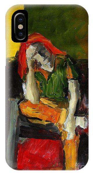 Fauvism iPhone Case - Melancholy by Mona Edulesco