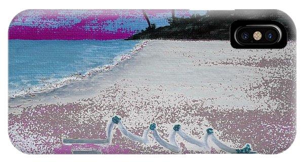 Merry Beachy Christmas IPhone Case