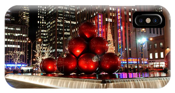 Merry New York City Christmas IPhone Case