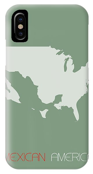 Mexican America Poster IPhone Case