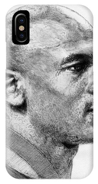 iPhone Case - Michael Jordan In 1990 by J McCombie