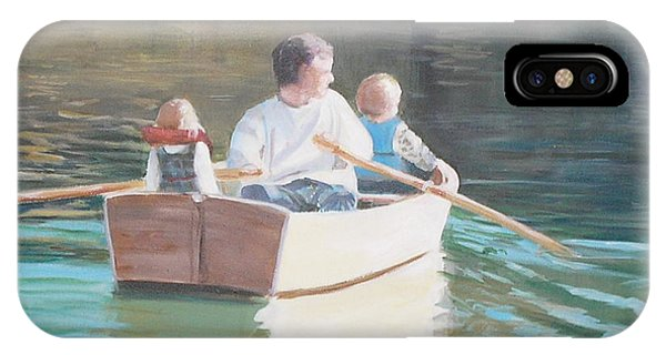 Michael Row The Boat Ashore IPhone Case