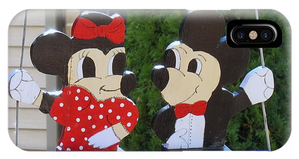 Mickey And Minnie Mouse IPhone Case