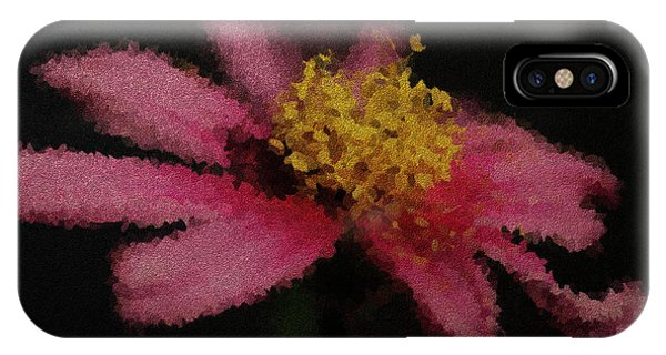 Midnight Bloom IPhone Case