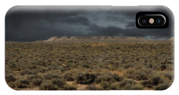 Midnight On The Pairie In Wyoming IPhone Case
