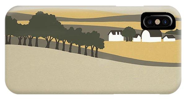 Midwest Landscape IPhone Case