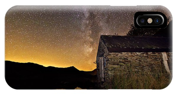 Milky Way Above The Old Boathouse IPhone Case