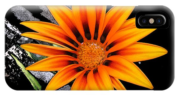Miracle Of A Flower IPhone Case