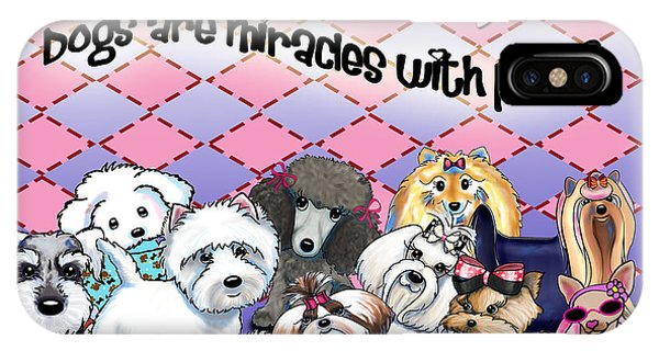 Miracles With Paws IPhone Case
