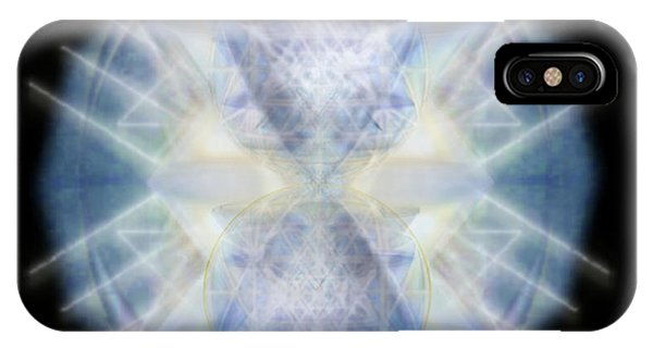Mirror Emergence II Blue N Teal IPhone Case