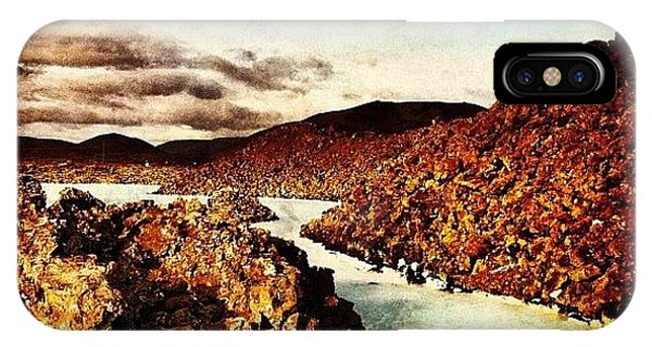 Beautiful Landscape iPhone Case - Missing Iceland Today. Taken At The by Luke Kingma