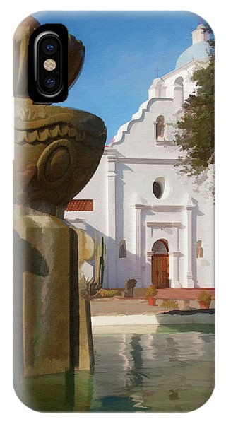 Mission Santa Cruz IPhone Case