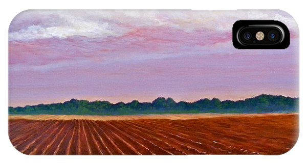 Mississippi Land And Sky IPhone Case