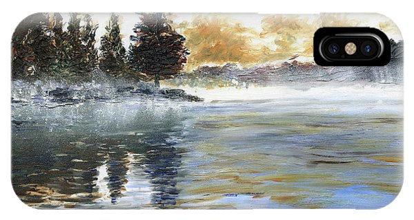 Misty Lake IPhone Case
