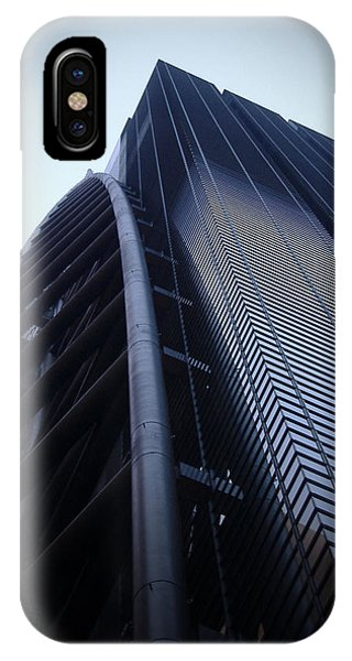 Panoramic iPhone Case - Modern Building In Tokyo by Naxart Studio