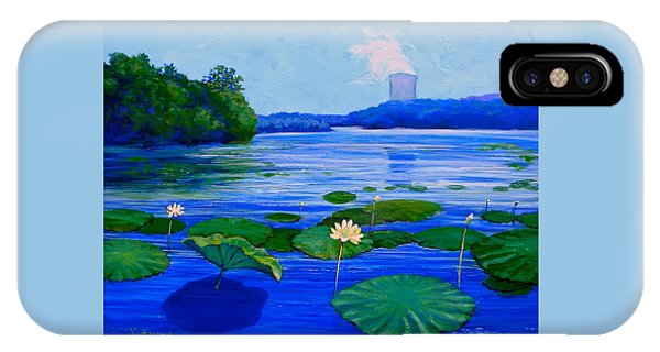 Modern Mississippi Landscape IPhone Case