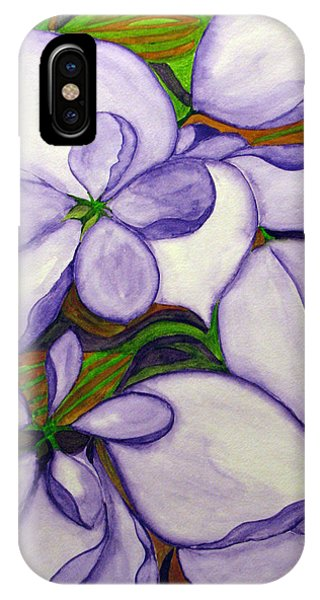 Modern Mussaenda IPhone Case