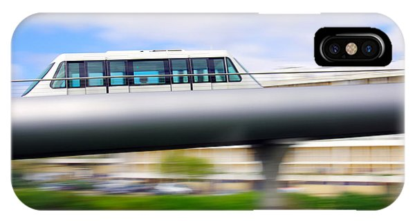 Commute iPhone Case - Monorail Carriage by Carlos Caetano