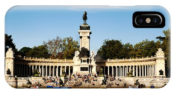 Monument To Alfonso Xii IPhone Case