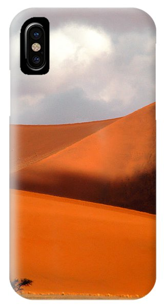 Moody Tree Upright IPhone Case
