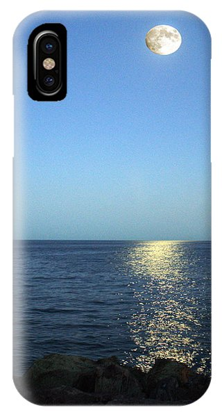 Moon And Water IPhone Case