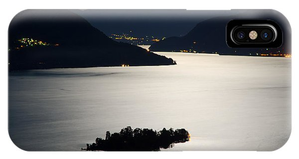 Moon Light Over Islands IPhone Case
