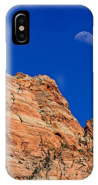Moon Over Zion IPhone Case