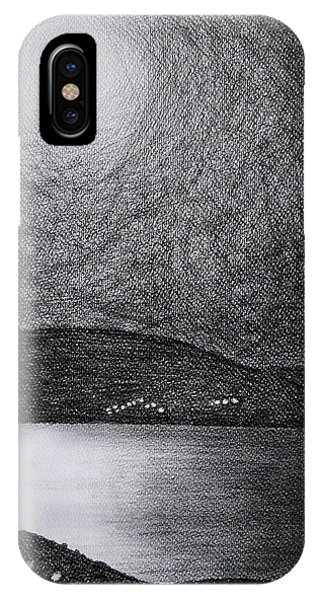 Moon Reflection On The Sea IPhone Case
