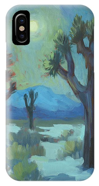 Moon Shadows At Joshua IPhone Case