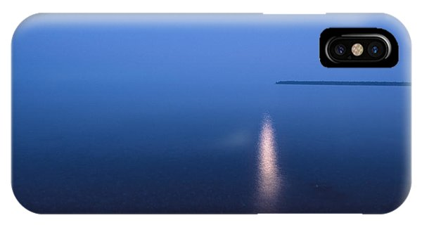 Moonrise On Lake Superior IPhone Case