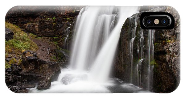 Moose Falls In Yellowstone National Park IPhone Case