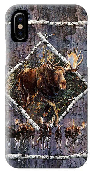 Bull iPhone Case - Moose Lodge by JQ Licensing