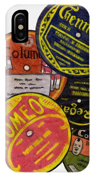 More Old Record Labels  IPhone Case