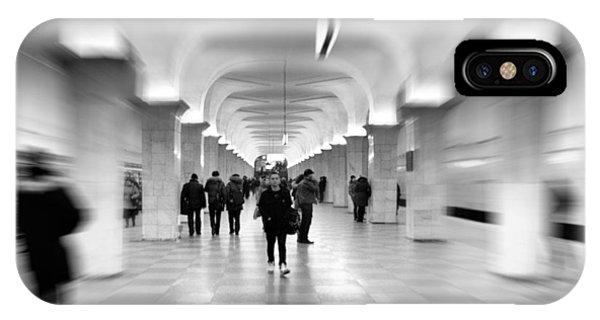 Moscow Underground IPhone Case