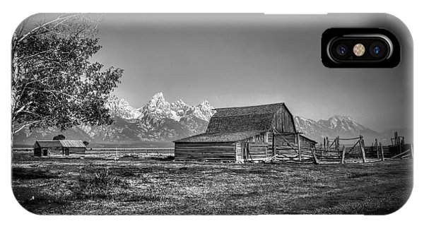 Moulton Barn Bw IPhone Case