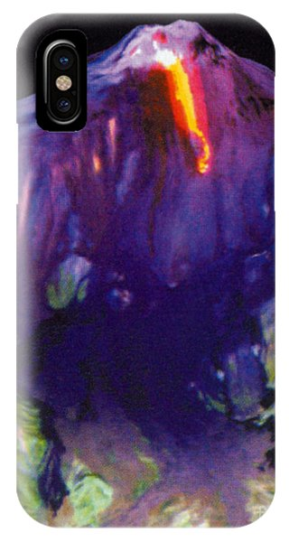 Mt Etna iPhone Case - Mount Etna, Satellite Image by Science Source