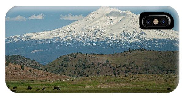 Mount Shasta IPhone Case