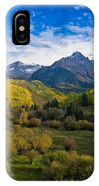 Mount Sneffels Under Autumn Sky IPhone Case