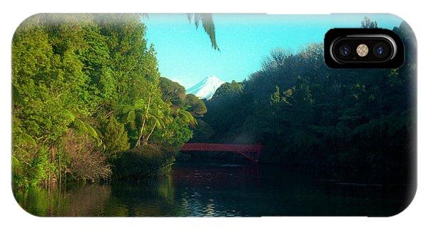 Mount Taranaki Aka Mt Egmont New Zealand IPhone Case