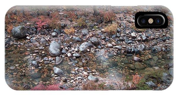 Sierra Nevada iPhone Case - Mountain River by Naxart Studio