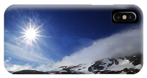 Mountain Sun IPhone Case
