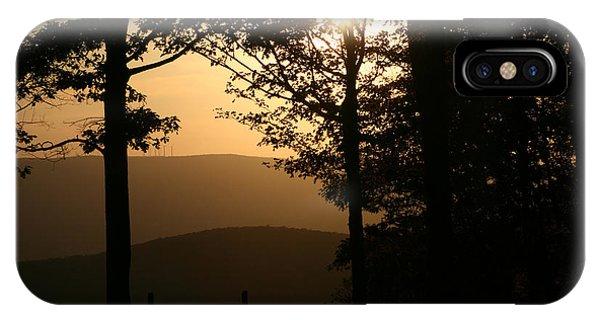 Mt Pisqah Sunset IPhone Case