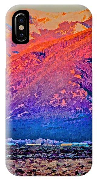 Mt Wheeler At Sunset IPhone Case