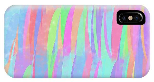 Multicolor Verticals IPhone Case