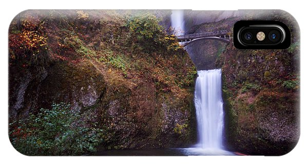 IPhone Case featuring the photograph Multnomah Falls by Matt Hanson
