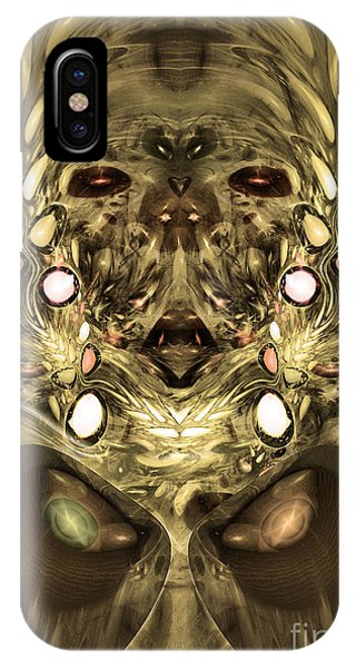 Mummy - Abstract Digital Art IPhone Case