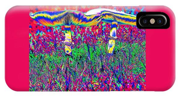Mushrooms On Mushrooms IPhone Case