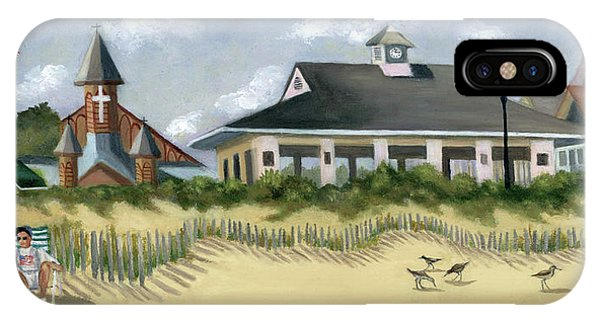 Music Pavillion In Ocean Grove  IPhone Case