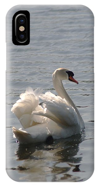 iPhone Case - Mute Swan by Chris Day